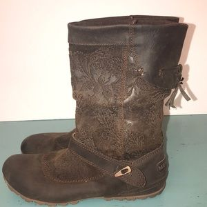 Merrell Shoes - MERRELL Leather Boots